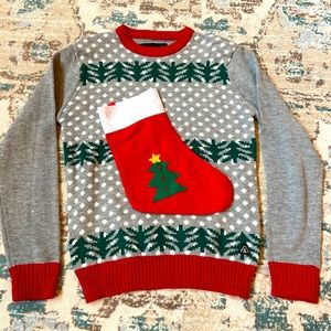 American Stitch Ugly Christmas Sweater Size L